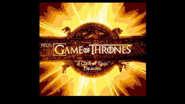 Game of Thrones season 2 retold as a vintage video game