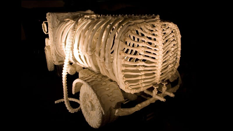 These Truck Skeletons Are Strangely And Creepily Lovely