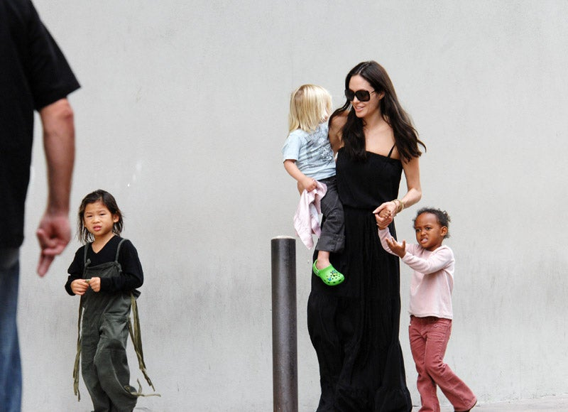 Play 'Hide the Nanny' With Angelina Jolie