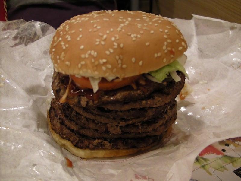 I Ate the Windows 7 Burger