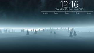 The Winter Forest Desktop
