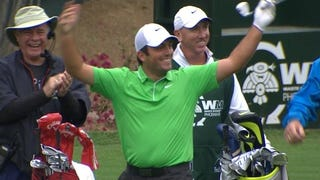 ​Francesco Molinari Sinks Hole-In-One; Gallery Throws Beers To Celebrate