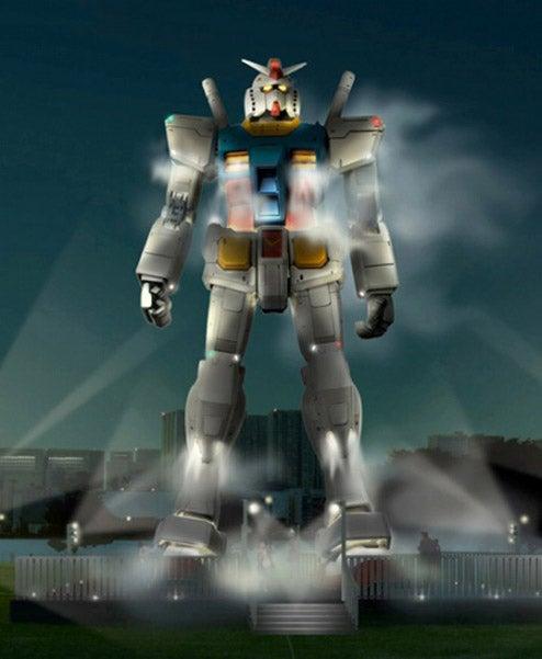 "Japan Getting ""Life-Sized"" Standing Gundam"