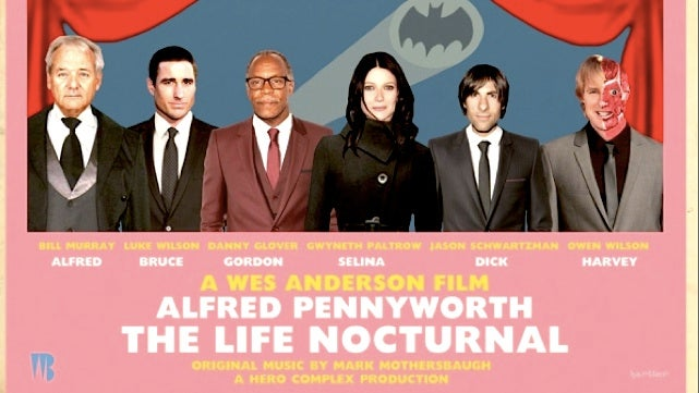 What if Wes Anderson directed a Batman movie?