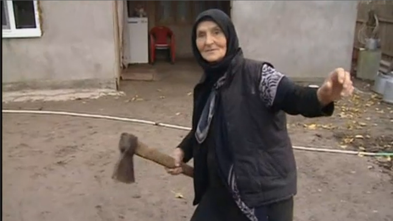 Grandmother Who Killed Wolf With Axe is Most Badass Person In Russia