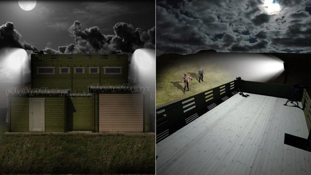 A $146,000 Anti-Zombie Cabin Is Your Best Bet To Stay Safe on Halloween