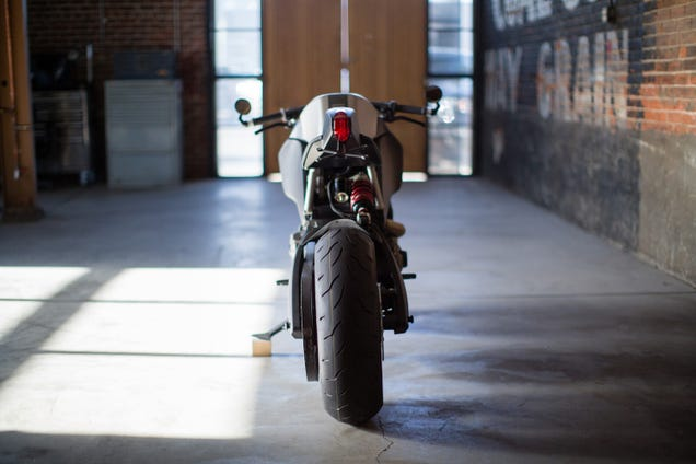 This badass bike could be Batman's new Batcycle