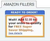 ClickFiller Finds the Best Possible Amazon Filler to Net You Free Shipping