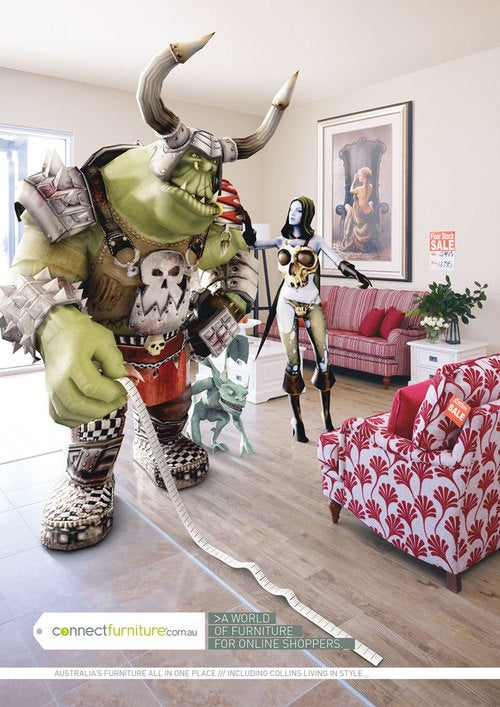 Even Orcs Need To Shop For Home Furnishings