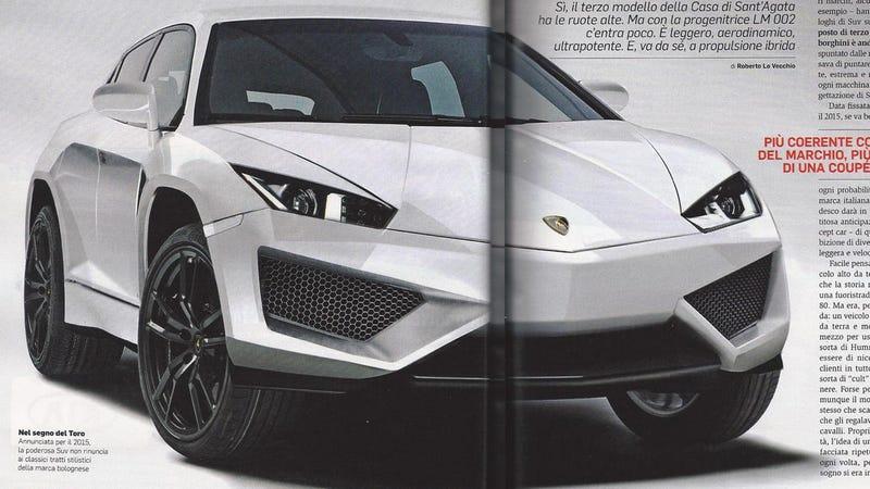 Lamborghini SUV Gallery