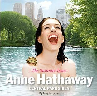 Terrified Anne Hathaway Tackles Scary Shakespeare