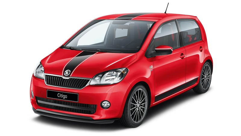 This Is The Skoda Citigo Nuts