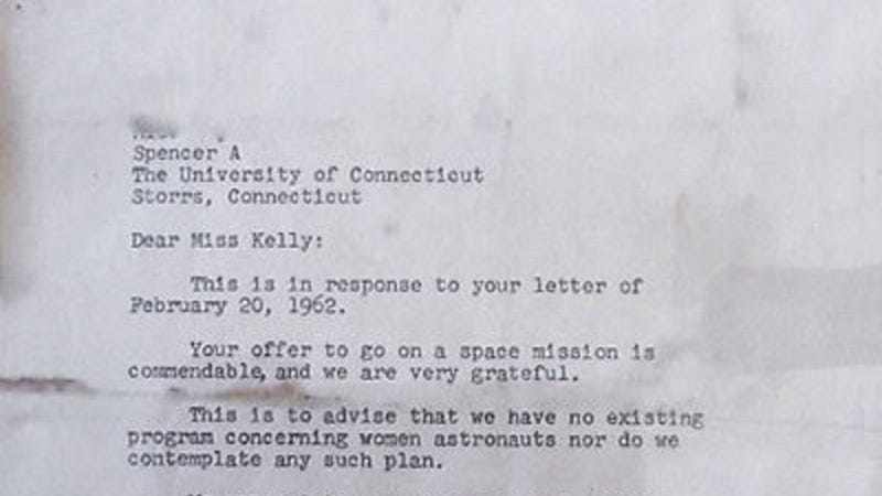 In 1962, NASA Didn't Want Any Girls in Space