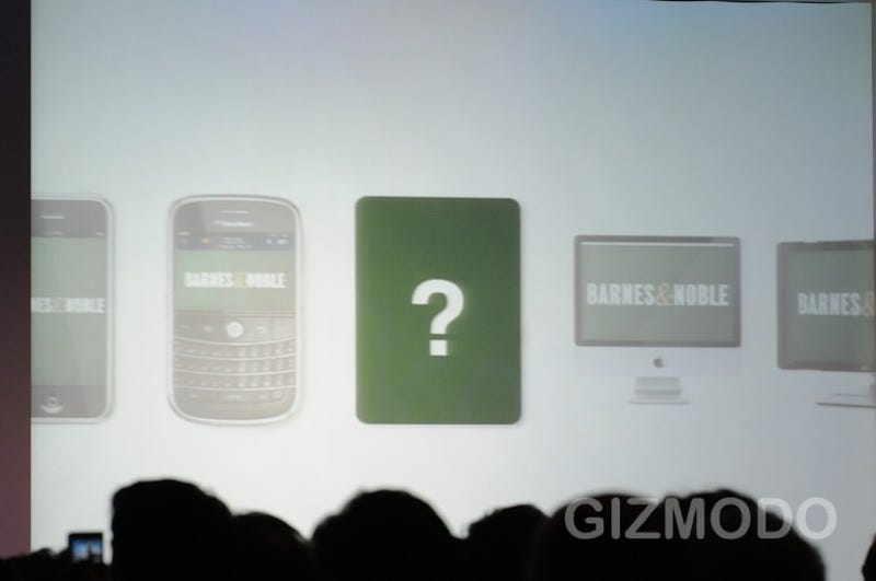 Live From Barnes & Noble's Nook Event