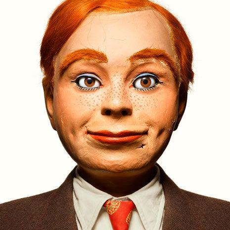 Photo portraits of retired ventriloquist dummies are filled with surprising sorrow
