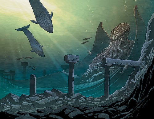 Alan Moore's Cthulhu comic is coming. Gird brain for explosion.