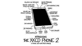 The XKCD Phone 2: Every Feature You Never Needed