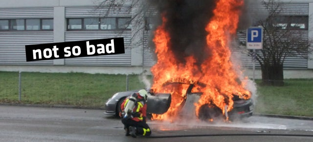 Why Richard Hammond Is Glad His Porsche GT3 Could've Caught On Fire
