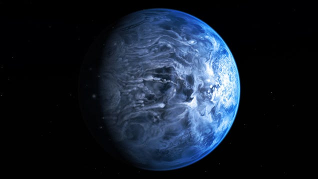 Os astrónomos descobriram um planeta azul para além do nosso sistema solar