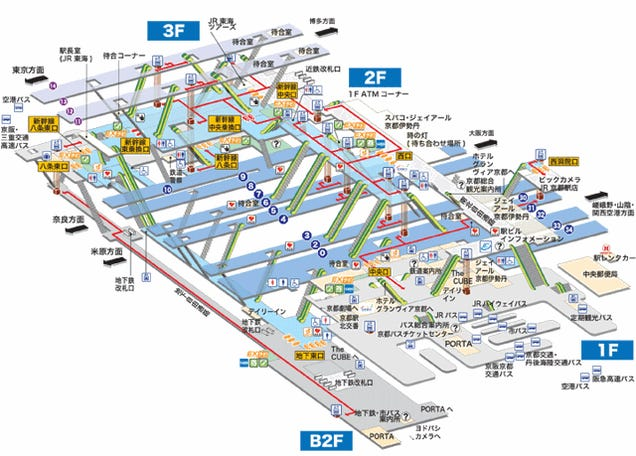 Japanese Subway Stations Totally Look Like Role-Playing Game Dungeons