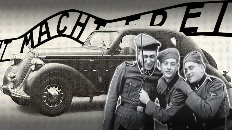 How Four Prisoners Escaped From Auschwitz In A Stolen Nazi Car