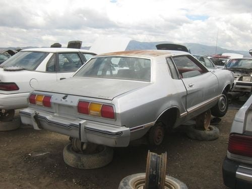 1974 Ford Mustang II Down On The Junkyard