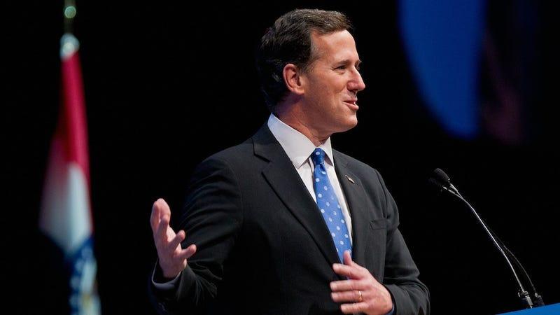Rick Santorum Buys Three-Year-Old Daughter Lifetime NRA Membership