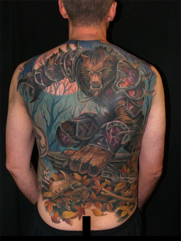 A Man's Flesh, Covered in Badass World of Warcraft Imagery