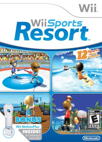 Wii Sports Resort Outsells All (Except NCAA Football) In July