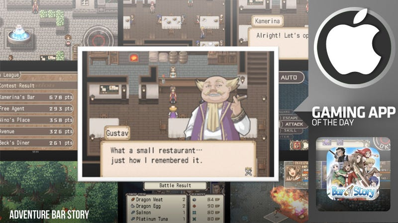 Mix Drinks, Battle Slimes, And Cook Dragons in Adventure Bar Story