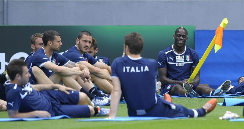 Mario Balotelli Doesn't Do Thing
