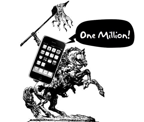 One Millionth iPhone 3G Sold Already Says Apple, Despite iPocalypse