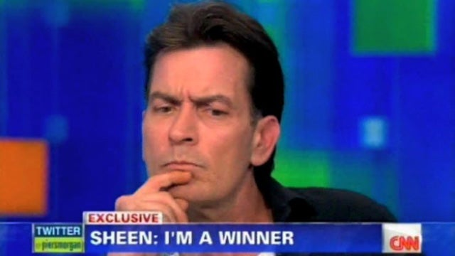Charlie Sheen Continues His Bitchin' Press Tour