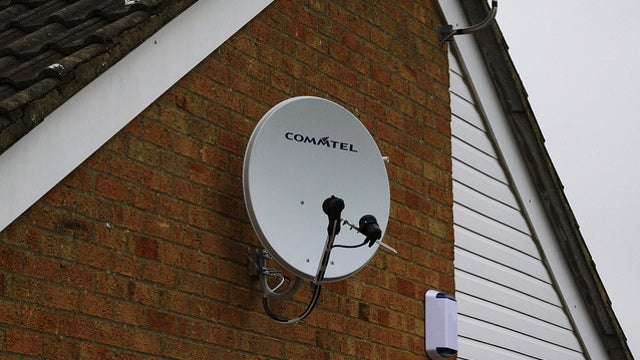 Navigate Urban Areas by Using a Satellite Dish to Find Your Bearings