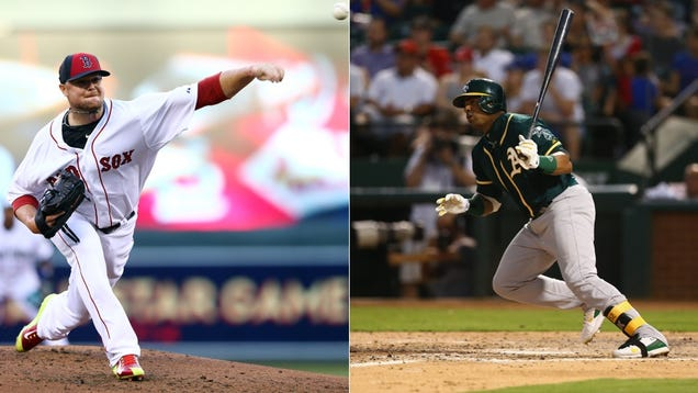 Jon Lester Traded To Oakland For Yoenis Cespedes
