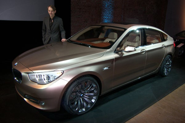 BMW 5-Series GT Concept: Giving Bangle's Rear A Lift