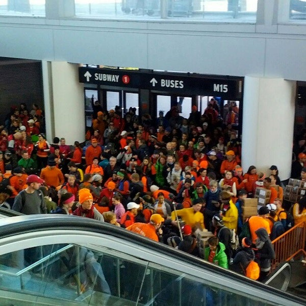 Marathon Runners Head to Staten Island to Help