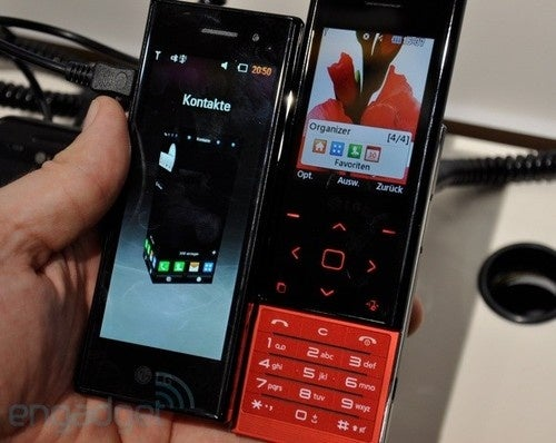 LG Chocolate BL20 Brings Back Traditional Chocolate Styling