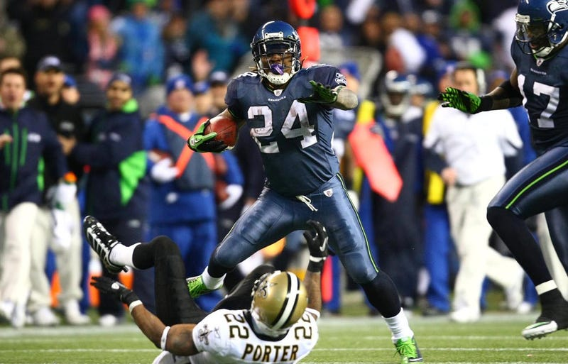 Hey, It's Three Years (And A Day) Since Marshawn Lynch Went Beast Mode