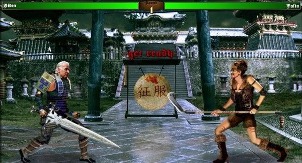 VP Debates, Mortal Kombat Style