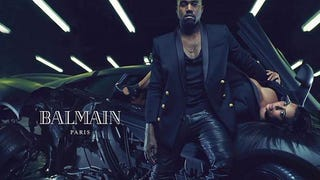 Here Are the Rest of the Kanye West/Kim Kardashian Balmain Ads