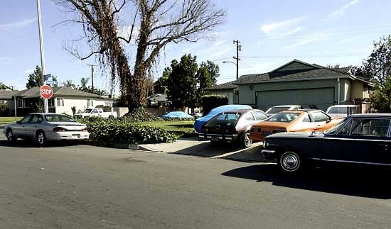 Car Hoarder Parks 48 Junkers On California Street