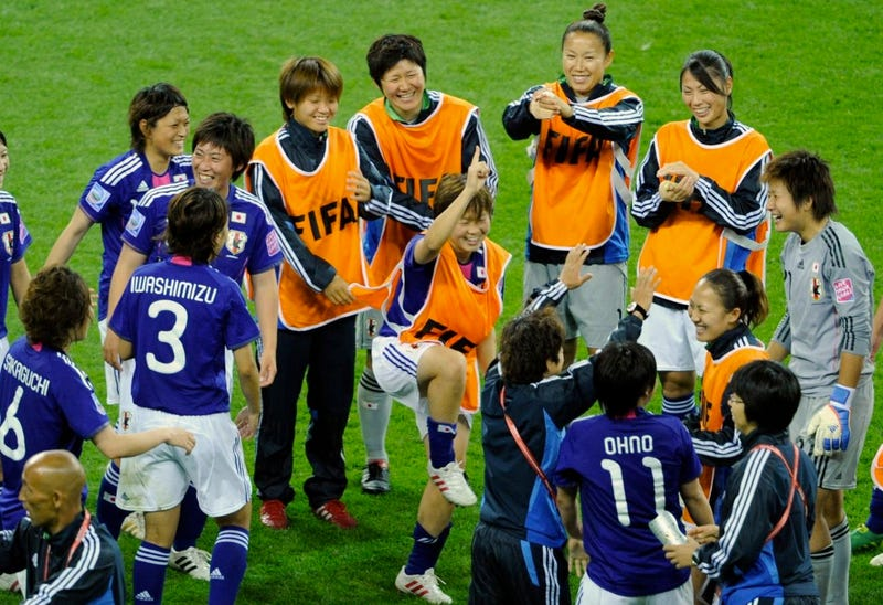 Soccer Analysts Find Many, Many Ways To Call The Japanese Short