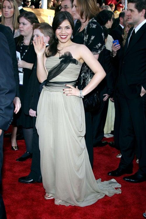 Many-Colored Splendor At 2009 SAG Awards