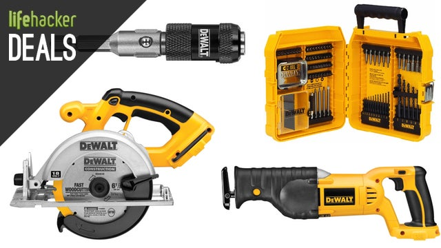 $25 off $100 in DEWALT Tools on Amazon