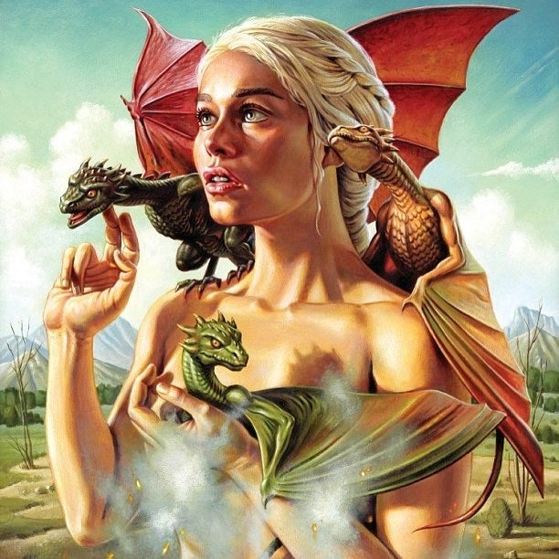 Check out the astonishing artwork from Mondo's Game of Thrones gallery show