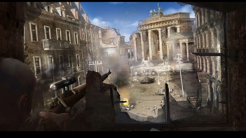 Rebellion Has Sniper Elite V2 In Its Sights For 2012