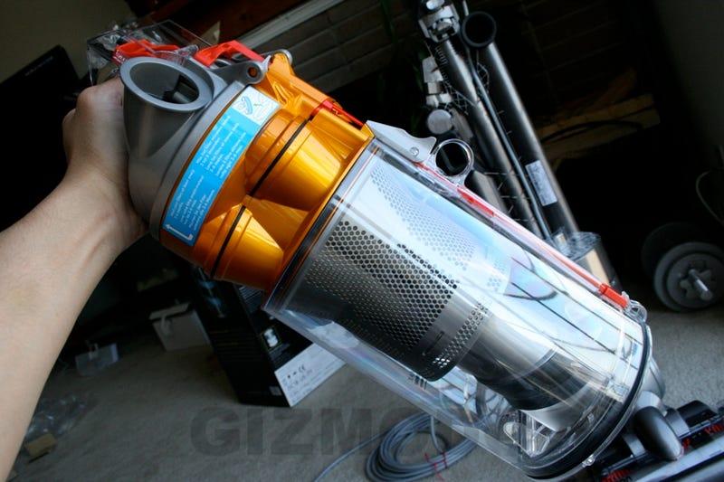 Exclusive Dyson Slim Photos: Meet the Barracuda of Cyclone Vacs