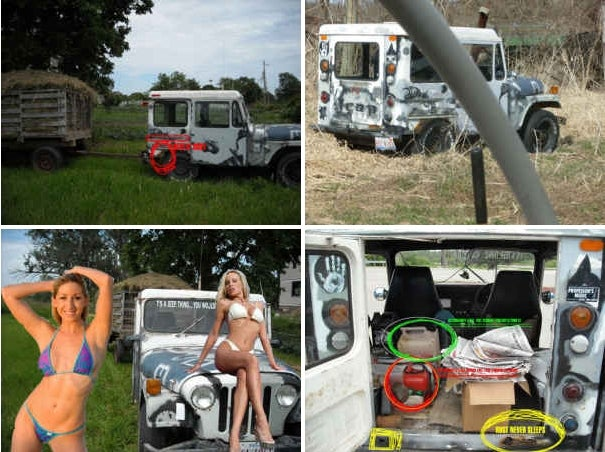 Craigslist Genius Selling Crusty Postal Jeep With Sexy Lady Fake-Out