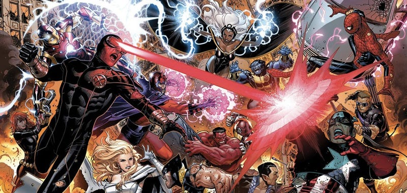 Marvel Comics spills the beans on their big 2012 event: Avengers vs. X-Men